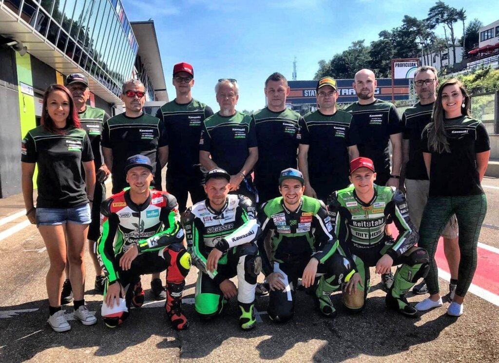 Kawasaki Schnock Team Roman Raschle